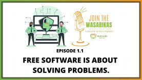 1.1 Free software is about solving a problem