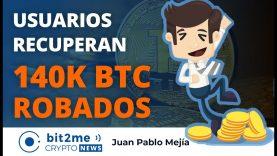 🔵 🎉 140K BITCOIN ROBADOS son recuperados por USUARIOS de Mt Gox – Bit2Me Crypto News – 14.12.2020