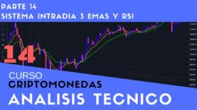 Sistema Intradia 3 Emas RSI Curso aprende a invertir en Criptomonedas Análisis técnico Parte 14