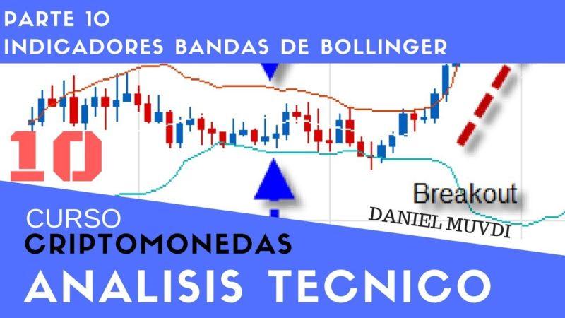 Indicador Bandas de Bollinger Curso aprende a invertir en Criptomonedas Análisis técnico Parte 10