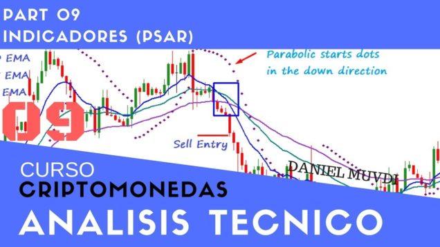 Indicador Parabolic SAR Curso aprende a invertir en Criptomonedas Análisis técnico Parte 9
