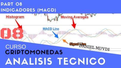 Curso aprende a invertir en Criptomonedas Análisis técnico Parte 8 Indicador MACD