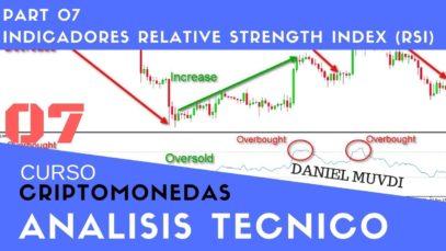 Curso aprende a invertir en Criptomonedas Análisis técnico Parte 7 Indicador RSI