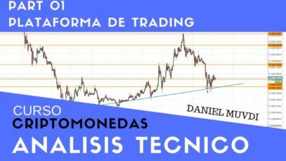 Curso aprende a invertir en Criptomonedas. Análisis técnico Part 01. Plataforma(TradingView)