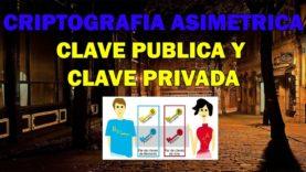 Criptografía asimétrica   Clave pública y Clave privada