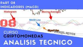 Curso aprende a invertir en Criptomonedas. Análisis técnico Parte 8: Indicador MACD
