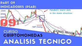 Indicador Parabolic SAR. Curso aprende a invertir en Criptomonedas. Análisis técnico Parte 9