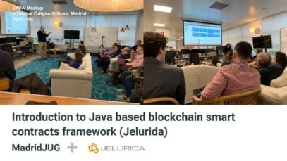 Introduction to Java based blockchain smart contracts framework (Jelurida)