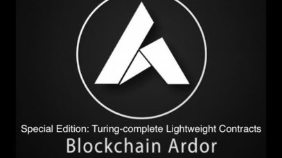 Blockchain Ardor: Tutorial Seminar on Turing-complete Ignis Lightweight Contracts with Lior Yaffe