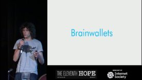 """The Eleventh HOPE (2016): """"Stealing Bitcoin with Math"""""""