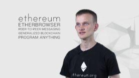 Vitalik Buterin explains Ethereum