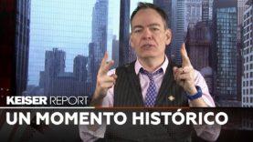 """Keiser Report en Español: """"El bitcoin es como un oro sintético, el nuevo oro o el oro 2.0"""" (E1349)"""
