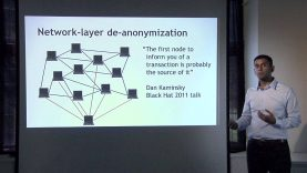 Lecture 6 – Bitcoin and Anonymity