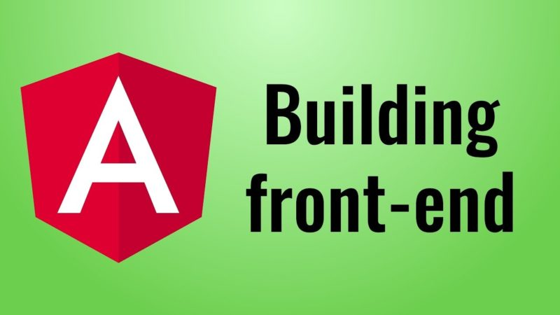Angular frontend – Blockchain in Javascript (part 5)