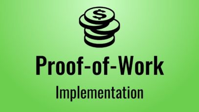 Implementing Proof-of-Work in Javascript (Blockchain, part 2)