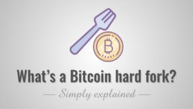 What is a Bitcoin hard fork? Simply Explained!