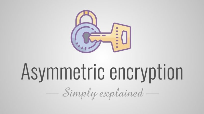 Asymmetric encryption – Simply explained