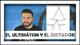 ¿Qué es el juego del ultimátum (y del dictador)? (Teoría de juegos)