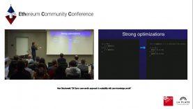 """Alex Gluchowski: """"ZK Sync: user-centric approach to scalability with zero-knowledge proofs"""""""