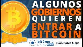 🔵 🤑 Algunos GOBIERNOS quieren entrar a BITCOIN – Bit2Me Crypto News – 26.03.2021