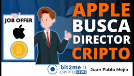 🔵 🍎 APPLE busca director de CRIPTOMONEDAS – Bit2Me Crypto News – 27-05-2021