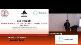 Benedikt Bünz : Bulletproofs