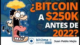 🔵 🤯 ¿BITCOIN en $250K antes de 2022? – Bit2Me Crypto News – 19.02.2021