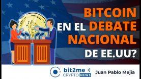 🔵 🇺🇸 BITCOIN en el debate nacional de EE.UU? – Bit2Me Crypto News – 16.11.2020