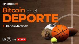 🔴 BITCOIN en el DEPORTE + Concurso 3000€ – Bit2Me LIVE Ep. 21 con Carlos Martínez