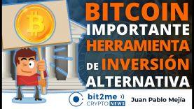 """🔵 📢 """"BITCOIN es una Importante HERRAMIENTA de INVERSIÓN Alternativa"""" – Bit2Me Crypto News – 19.04.2021"""