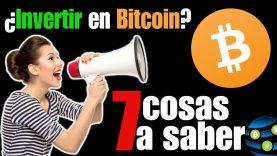 ✅Bitcoin – Lo que necesitas SABER antes de INVERTIR en Bitcoin