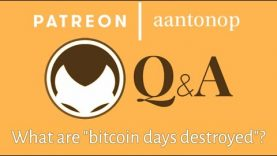 "Bitcoin Q&A: What are ""bitcoin days destroyed""?"
