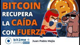 🔵 🥊 BITCOIN recupera la CAÍDA con FUERZA – Bit2Me Crypto News – 29.01.2021