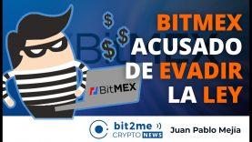 🔵 🧑🏻⚖️ BitMEX es acusado de EVADIR la LEY – Bit2Me Crypto News – 02.10.2020