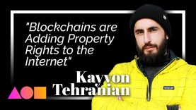 """""""Blockchains are Adding Property Rights to the Internet:"""" Kayvon Tehranian"""