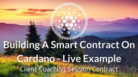 Building A Smart Contract On Cardano – Marlowe Playground Example Walk-through Part 1