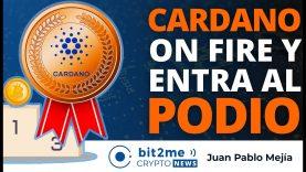🔵 🔥 CARDANO está On Fire y entra al podio del TOP 3- Bit2Me Crypto News – 01.03.2021