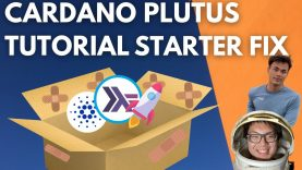 Cardano Plutus Project Starter Fix | Plutus Playground Smart Contracts + Haskell Explanation
