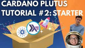 Cardano Plutus Smart Contract Tutorial #2 | Endpoints and Validator Script Blockchain Development