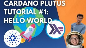 Cardano Plutus Tutorial #1: Hello World | Plutus Playground Smart Contracts + Haskell Explanation