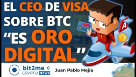 🔵 💳 CEO VISA sobre BITCOIN es ORO DIGITAL – Bit2Me Crypto News – 18.03.2021