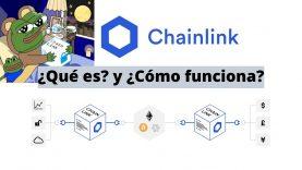 Chainlink : ¿Qué es? ¿Cómo funciona?