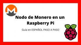 Como INSTALAR un NODO de MONERO en un Raspberry Pi   Español 2020