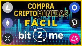 Comprar CRIPTOMONEDAS FÁCIL PARA PRINCIPIANTES en Bit2Me