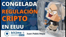 🔵 👨⚖️ Congelada REGULACIÓN CRIPTO en EEUU – Bit2Me Crypto News – 21.01.2020