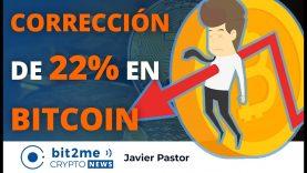 🔵  🔥 CORRECCIÓN de 22% en BITCOIN – Bit2Me Crypto News – 11.01.2021