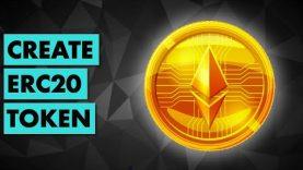 Create ERC20 token on Ethereum (the EASY way)