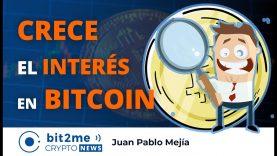 🔵 📈 CRECE el INTERÉS en BITCOIN – Bit2Me Crypto News – 25.11.2020