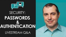 Crypto Security: Passwords and Authentication – Livestream aantonop