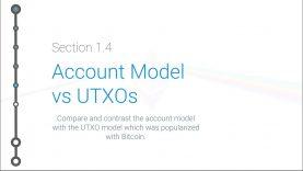 Cryptoeconomics – 1.4 – UTXO Model